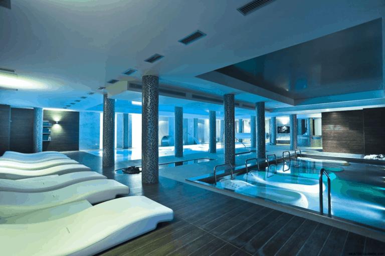 climatización piscina hotel