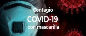 Expertos simulan cómo te contagias de COVID-19 si llevas mascarilla o no