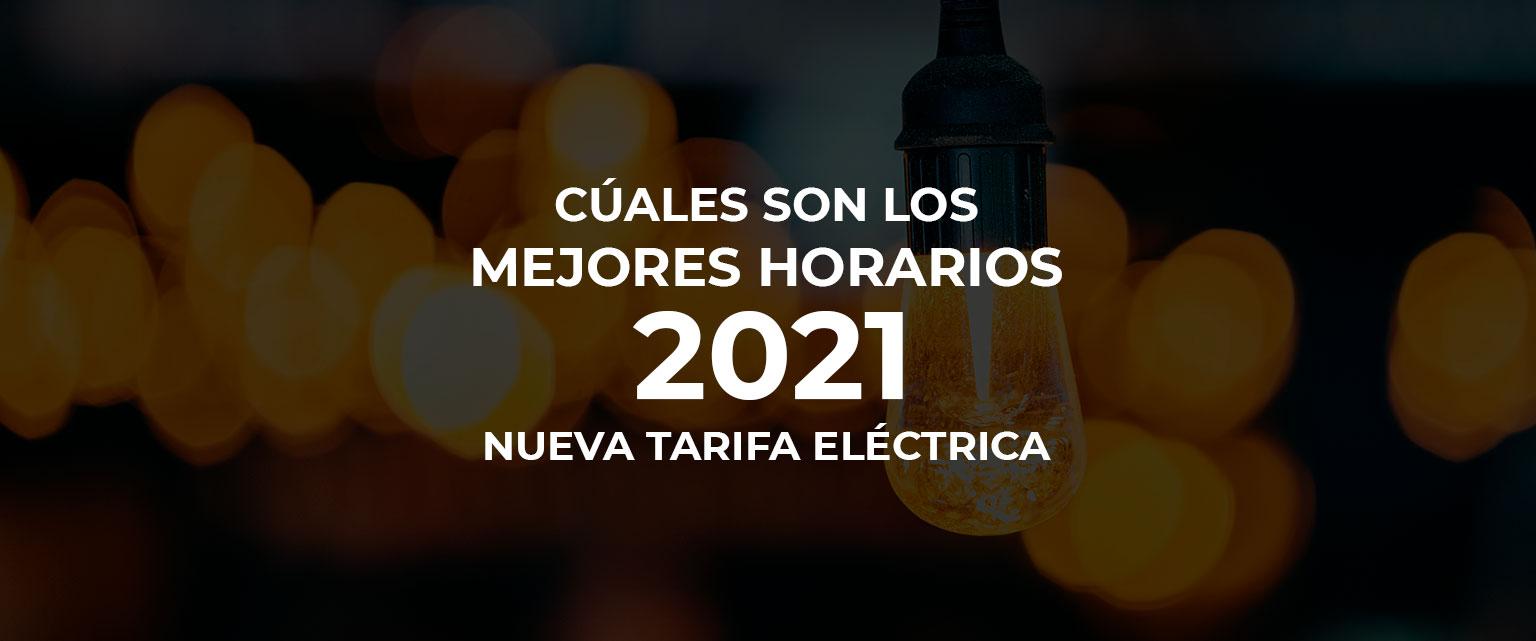 💡 Cuáles son los mejores horarios de luz 🕗 con la nueva tarifa eléctrica 2021