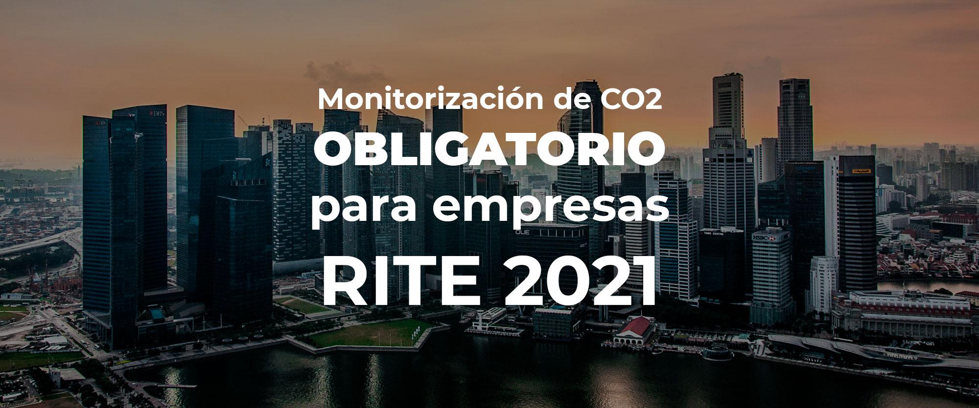Monitorización de CO2 🚦 OBLIGATORIO para empresas 🗄 RITE 2021